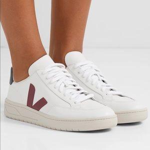 Veja V-12 lace up sneakers.